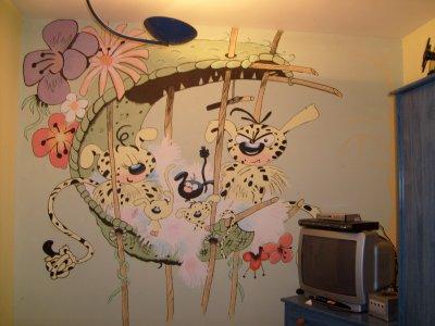 Blog de les dessins de jp mes dessins - Dessin mural chambre fille ...