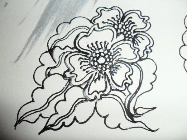 Ma création de henna