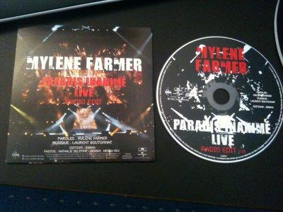 CD promo Paradis Inanimé