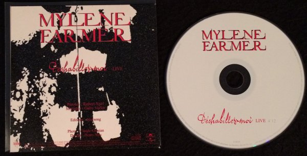 CD Promo Deshabillez-moi / Pardonne moi / Redonne moi