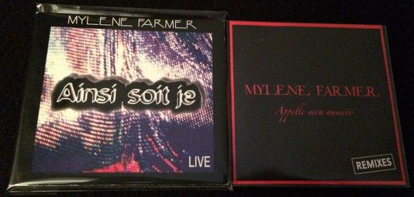 CD PROMO Ainsi soit je / Appelle mon numéro Remixes