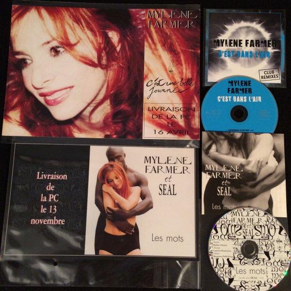 Plans médias et 2 nouveaux cd promos