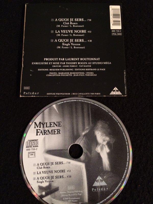"CD MAXI ""A quoi je sers"""