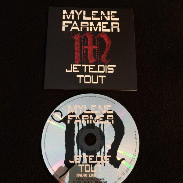 """CD PROMO """"Je te dis tout"""""""