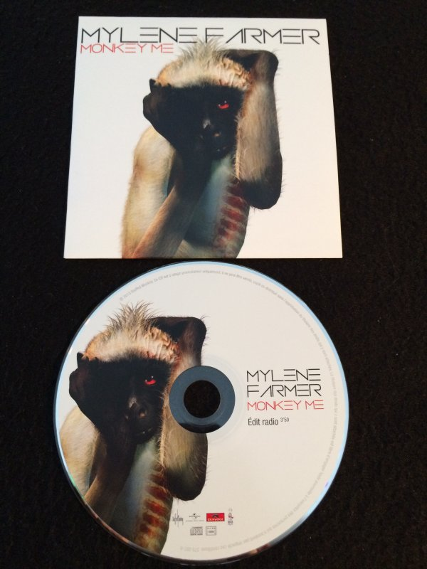"CD promo ""Monkey Me"" et ""Monkey Me Remixes"" (MAJ)"