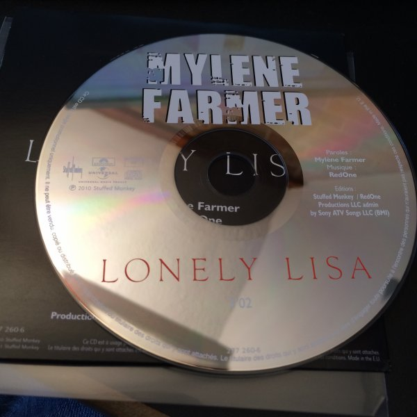 CD PROMO LONELY LISA