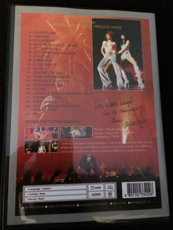 DVD JAPONNAIS LIVE A BERCY
