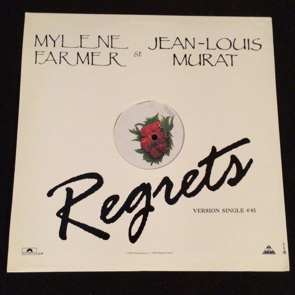 """VINYLE PROMO """"Regrets"""""""