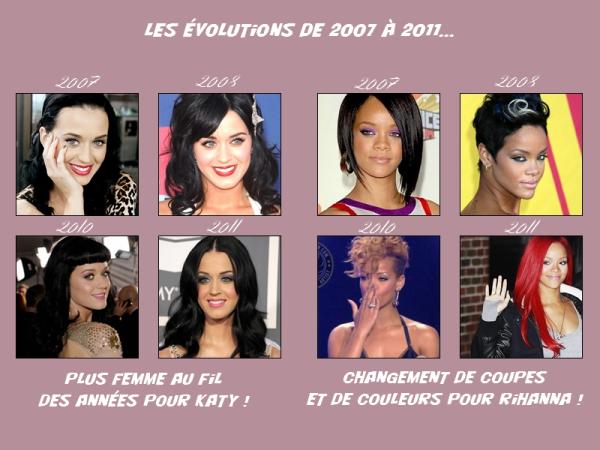 Katy Perry Vs Rihanna , quelle est ta star préférée ?