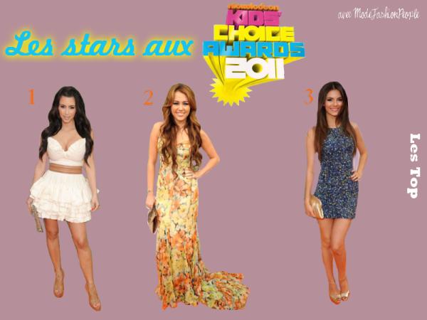 Les Kids Choice Awards 2011 , les Trois tenues coup de coeur !