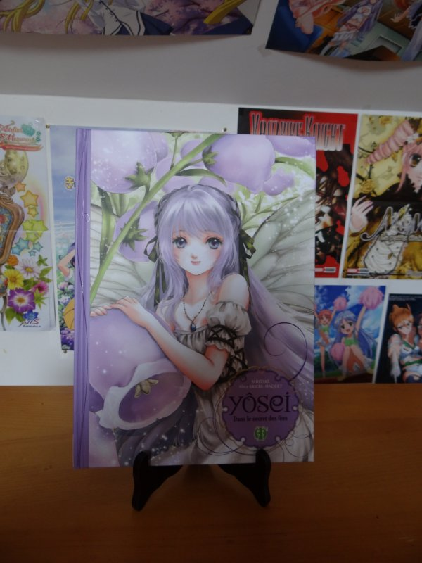 Dédicace Shiitake - Livre illustré Yôsei, dans le secret des fées