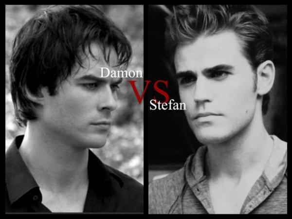 Damon ou Stefan?