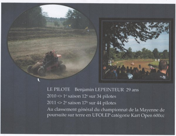 Calendrier saison 2012