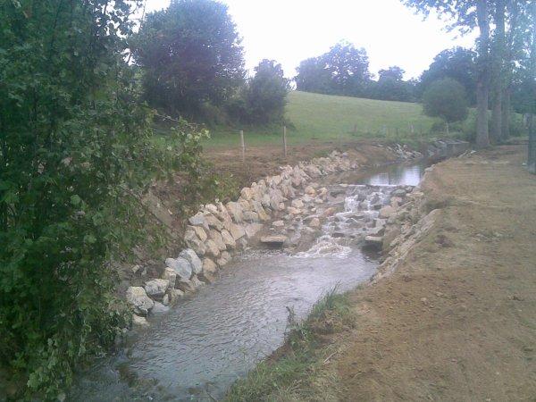 mon dernier chantier en rivière