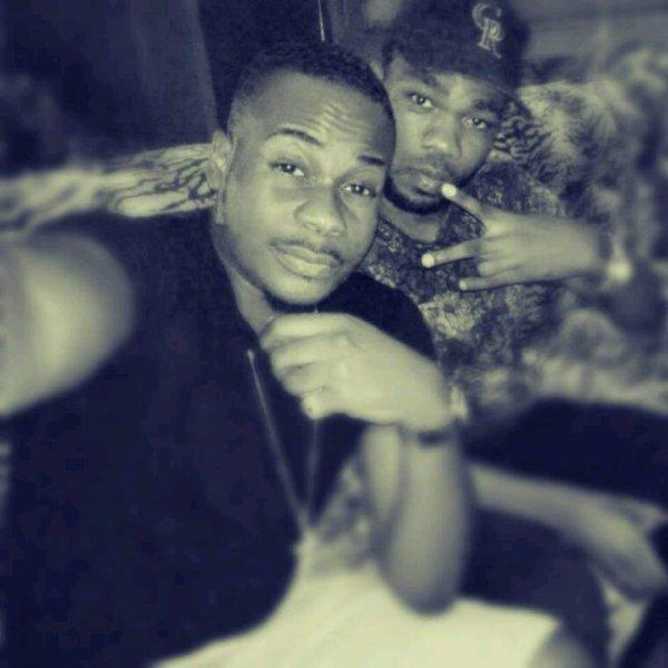 Avec my bro.