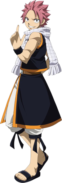 Les personnages : Natsu