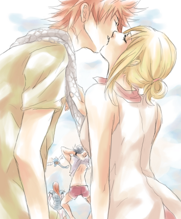 Les Couples De Fairy Tail : Lucy - Natsu  ♥