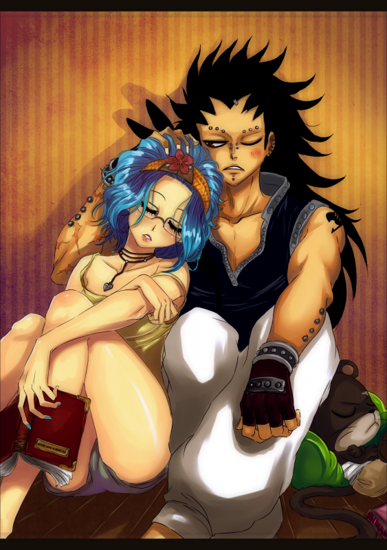 Les Couples De Fairy Tail : Reby - Gajil   ♥