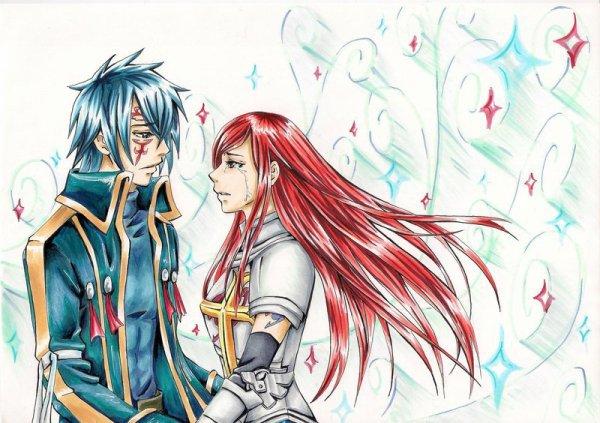 Les Couples De Fairy Tail : Erza - Gerald ♥