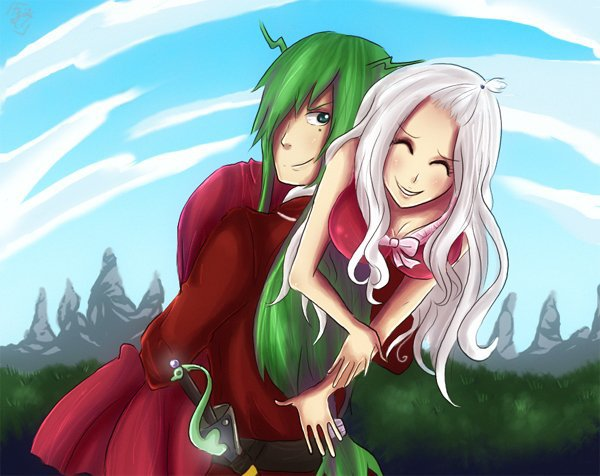 Les Couples De Fairy Tail : Mirajane - Fried  ♥   &   Natsu - Lisanna  ♥