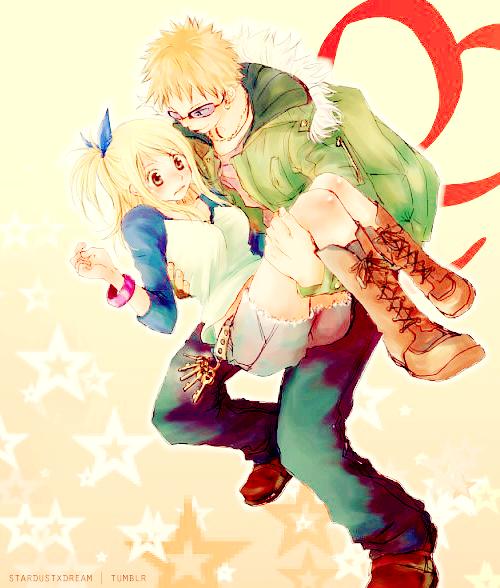Les Couples De Fairy Tail : Lucy - Loki  ♥   &   Sherry - Leon  ♥