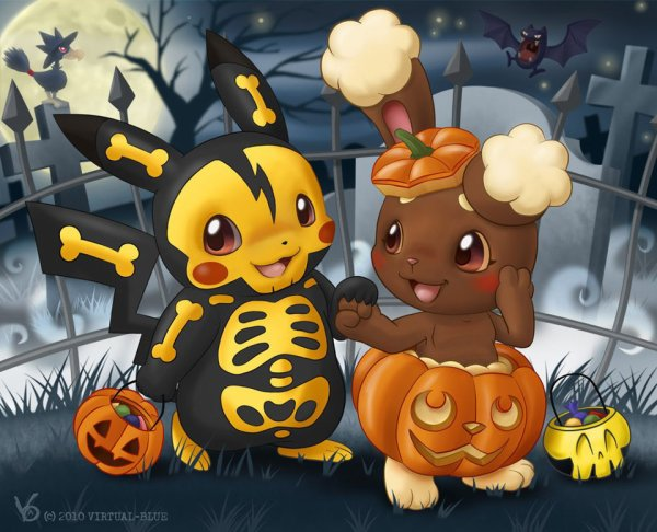 Pikachu et Laporeille^^