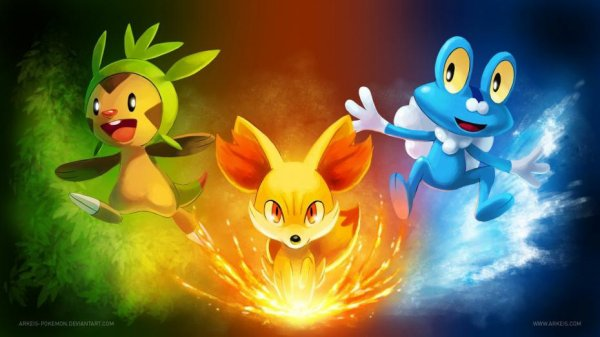 Pokémon starters 6G
