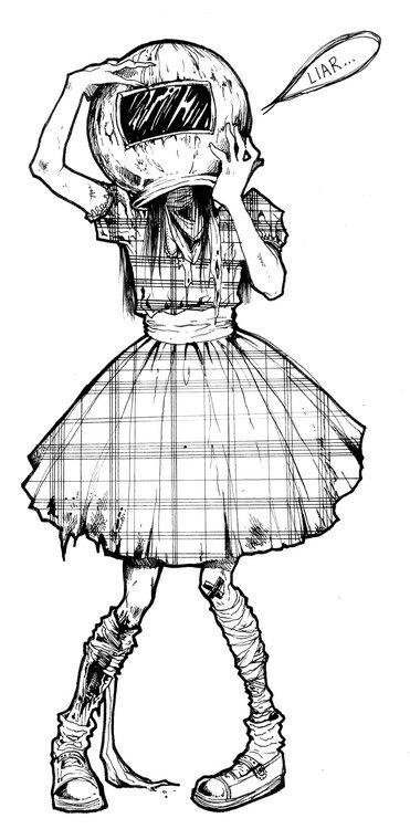 [ Une petite zombie ♪  ]