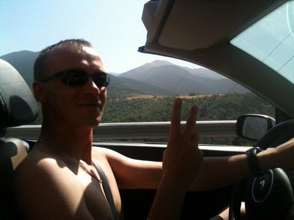 Moi cet été en direction de l Espagne.