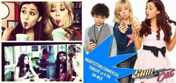 Actu : 12, 13 & 14 Septembre, Instagram, Sam & Cat