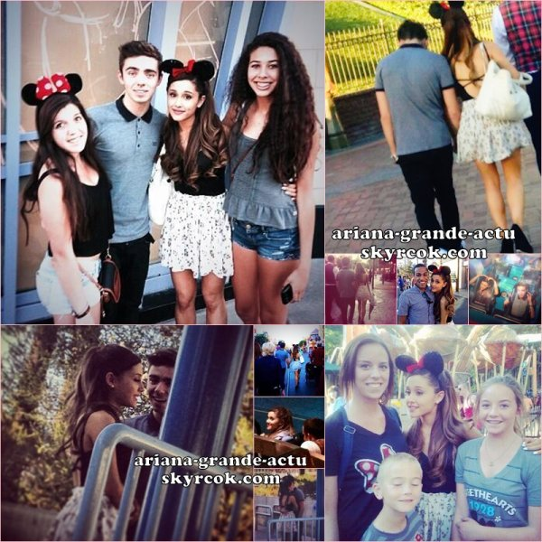 Actu : 22, 23 & 24 Septembre, Instagram, Twitter, Sam & Cat, Event, Disneyland