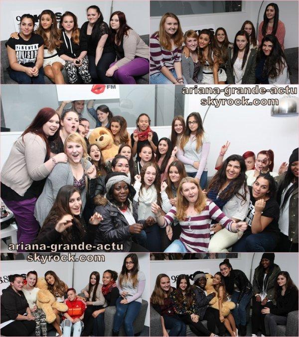 Actu : 5 Novembre, Instagram, Europe Tour, Sam & Cat