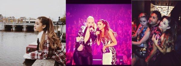 Actu : 9 (2) & 10 Novembre, Europe Tour : Amsterdam, MTV Backstage, Vidéos, Instagram