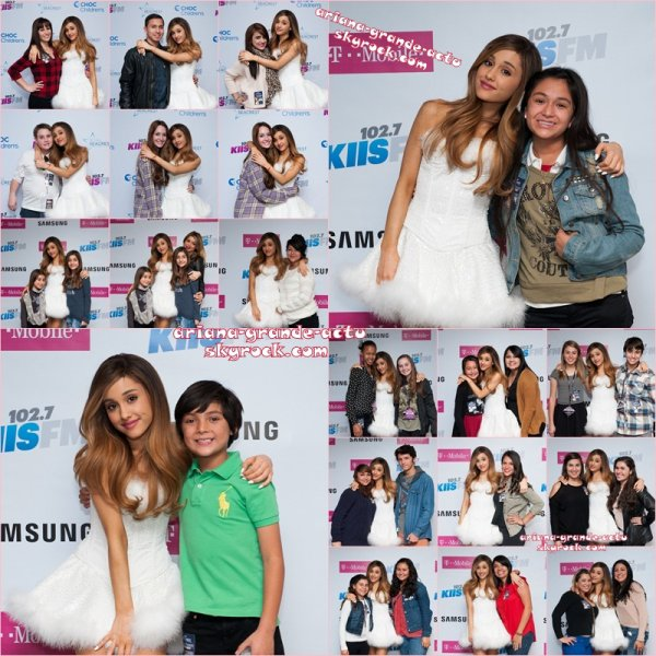 Actu : 5 & 6 Décembre, Instagram, Jingle Ball Tour - LA, Vidéos