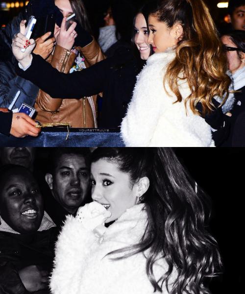 Actu : 13 Décembre, Instagram, Jingle Ball Tour - New York Part 1