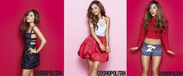 Actu : Cosmopolitan photoshoot, Behind The Scene, Vidéo