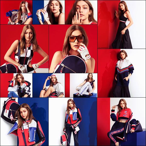 .  ▬ De superbes Clichés de Gigi Hadid pour la collection « TOMMYxGIGI  » Printemps/Été 2018. .