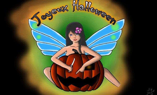 Mon dernier dessin pour haloween
