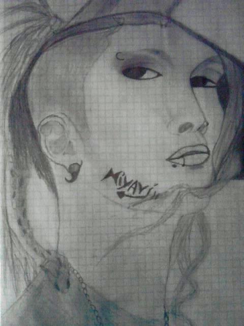mon dessin de -Miyavi-
