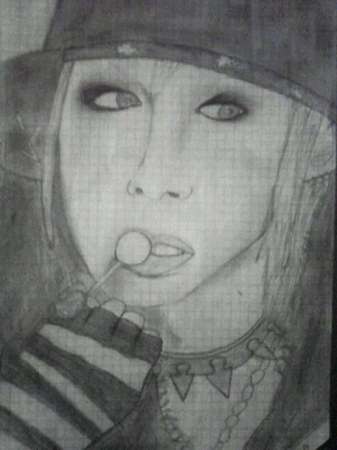 Mes dessins de Maya et Aiji de LM.C  (un peu raté je trouve)