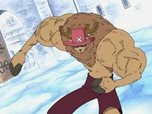 Tony tony chopper le fan barbe a papa ( comme moi :p )