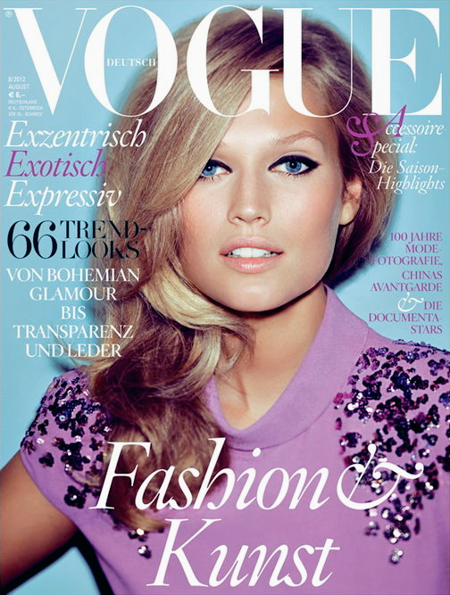 Vogue Germany | August 2012