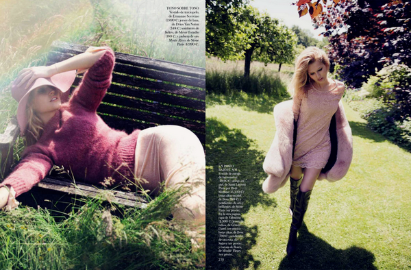 Vogue Spain | October 2013
