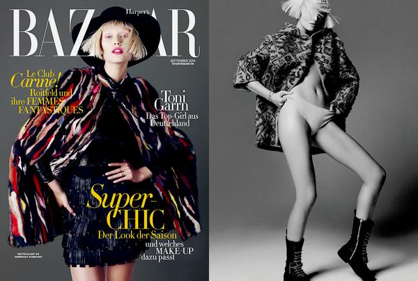 Harper's Bazaar Germany | September 2014