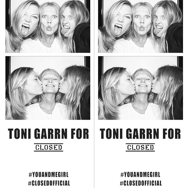 Toni Garrn for Closed Cocktail Party