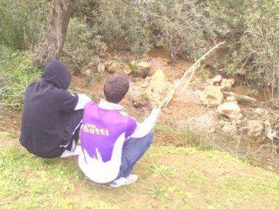 moii et mon pote fakhro a la pèche hhh