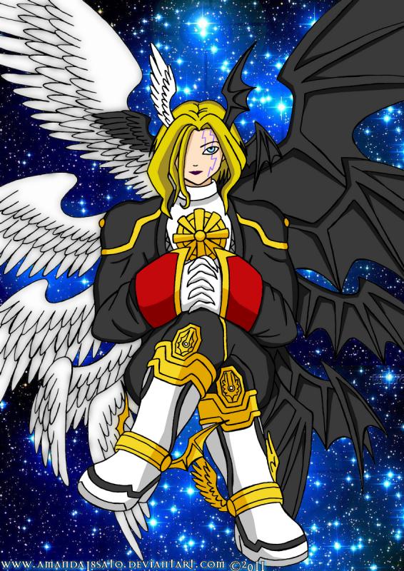 Lucemon Chaos Mode, mon maître qui m'apprend à me défendre et à me battre....