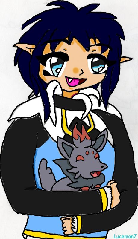 Ryuai et Zorua