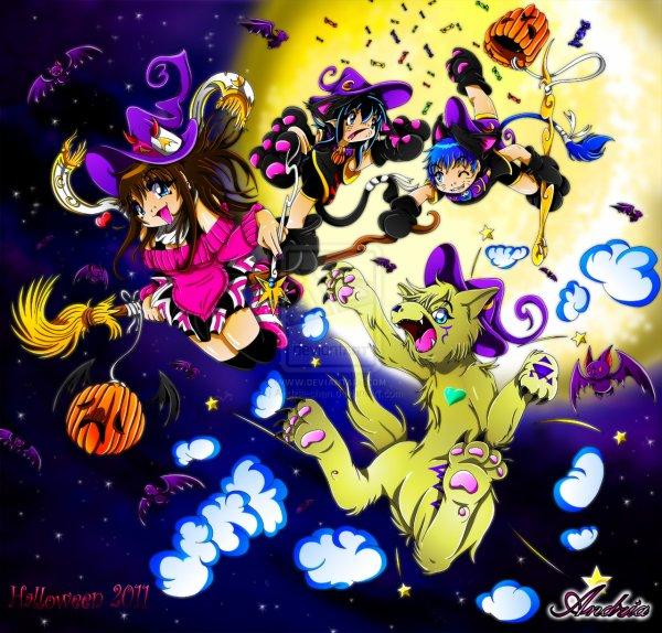 Joyeuse fête d'halloween !