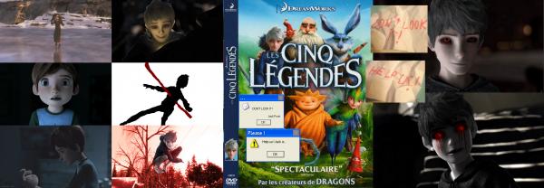 CreepyPasta DreamWorks - CreepyBlack Jack Frost, histoire d'une entité dans un DVD hanté